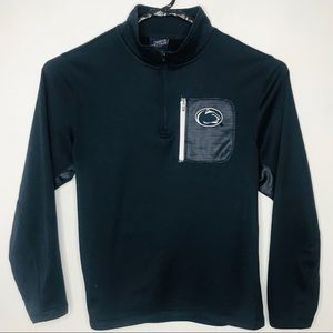 Penn State Nittany Lions 1/4 Zip Pullover Navy L